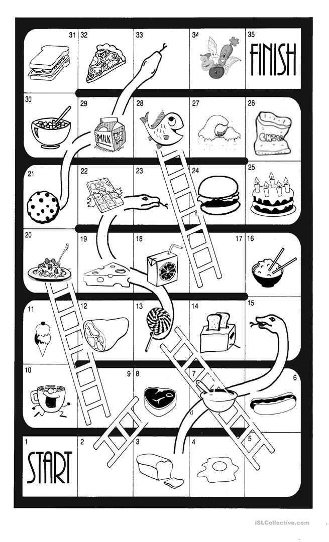 Pretty Snakes And Ladders Template Printable Photos