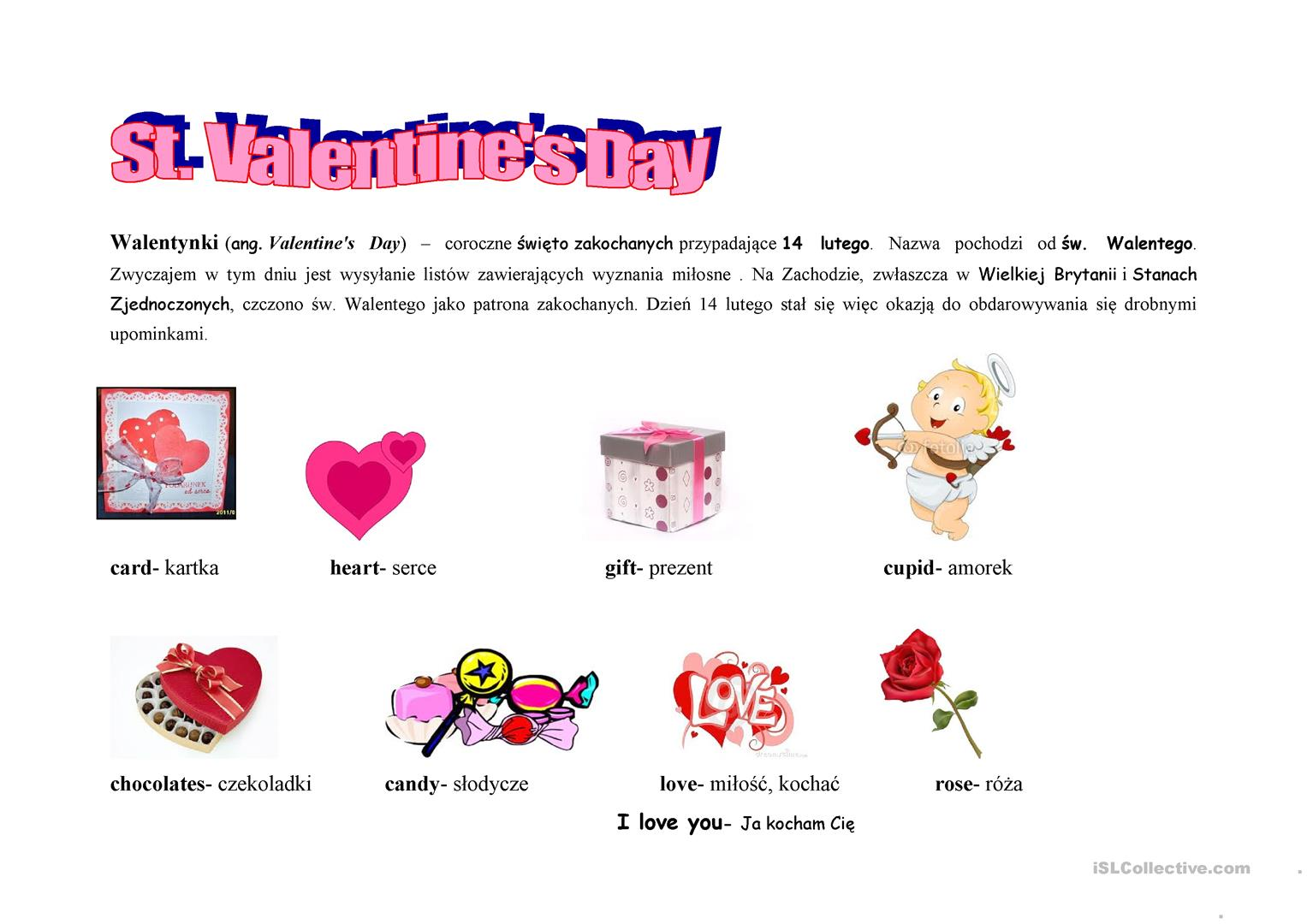 St Valentine S Day Kids