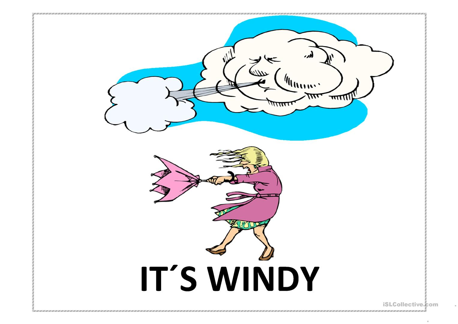 Windy Weather Pictures For Kids