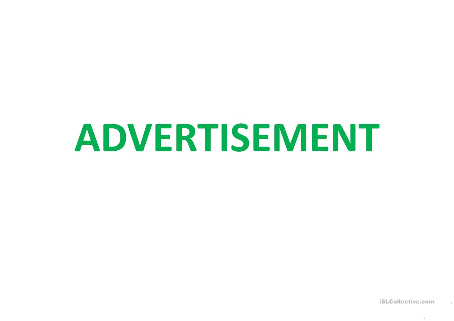 Advertisements And Propaganda