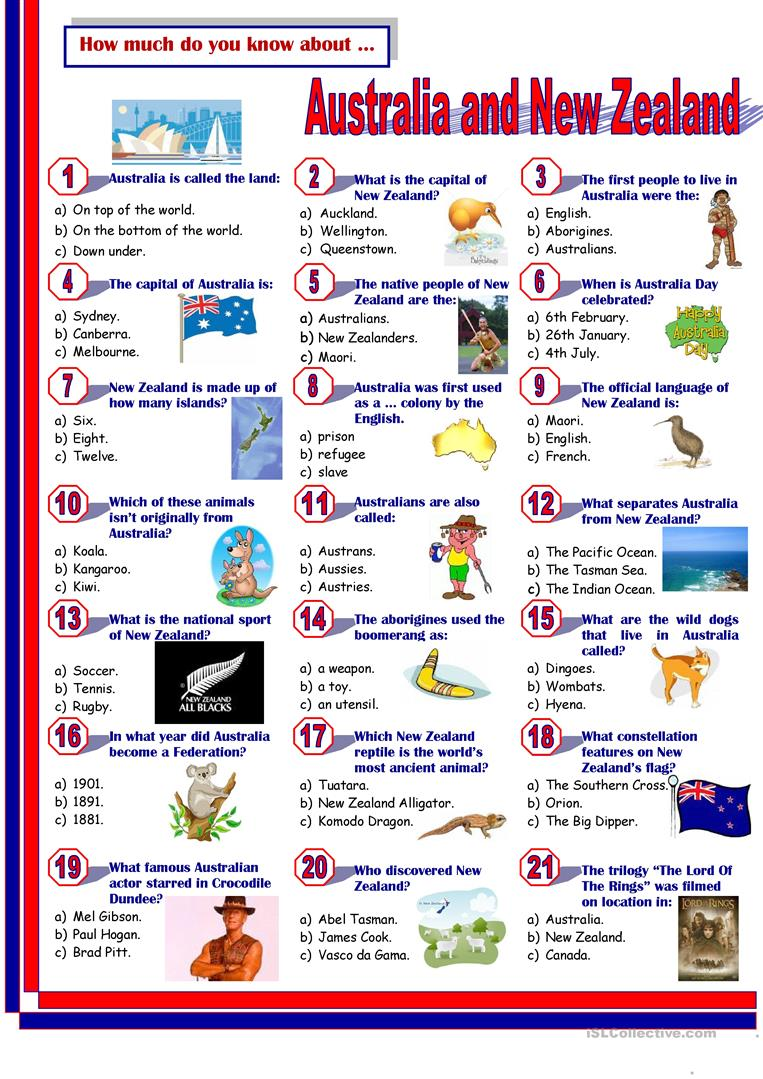 small resolution of Project English Speaking Countries Information Worksheets_5th Grade    Divino English