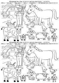 Free Esl Farm Animals Worksheets Zoo Worksheet