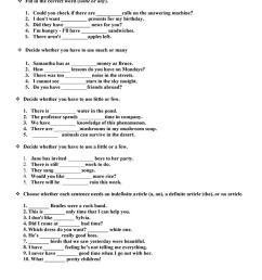 DETERMINERS WORKSHEET - English ESL Worksheets for distance learning and  physical classrooms [ 1079 x 763 Pixel ]