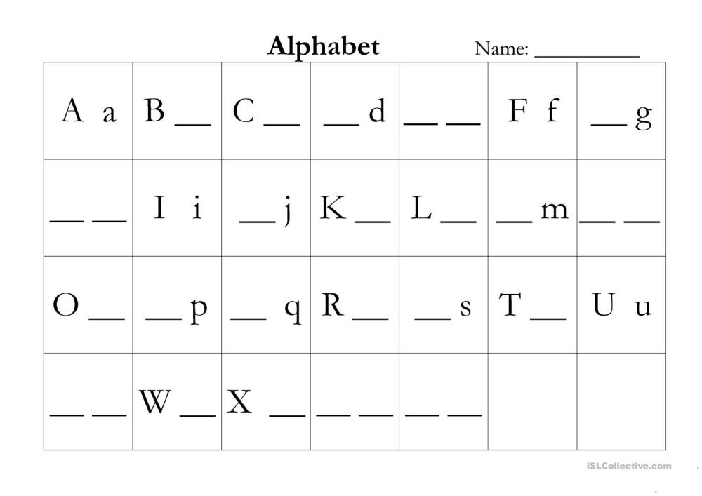 medium resolution of ABC assessment - English ESL Worksheets for distance learning and physical  classrooms
