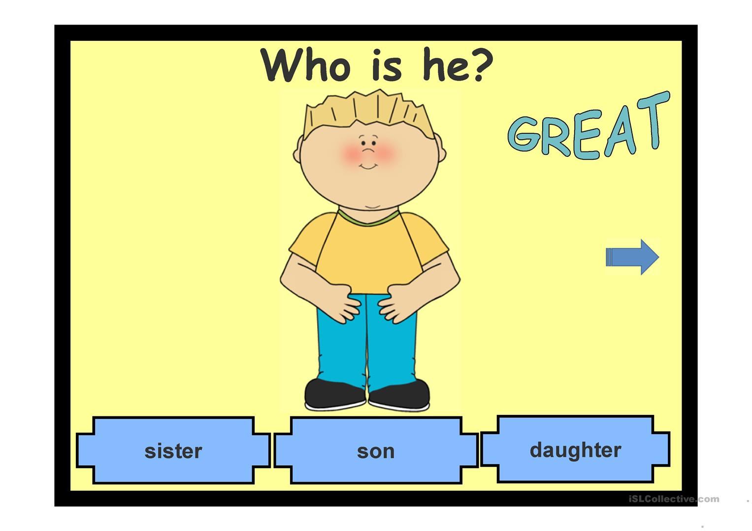 Family Ties Worksheet