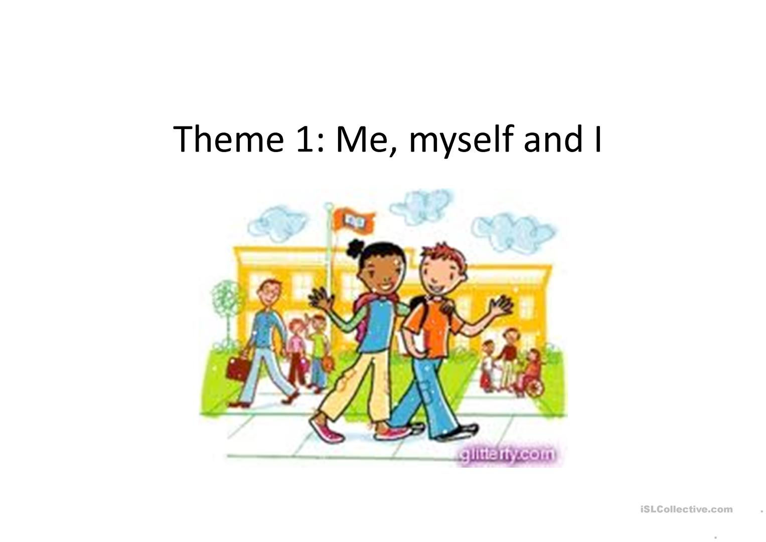 Introduction Lesson For Esl Primary
