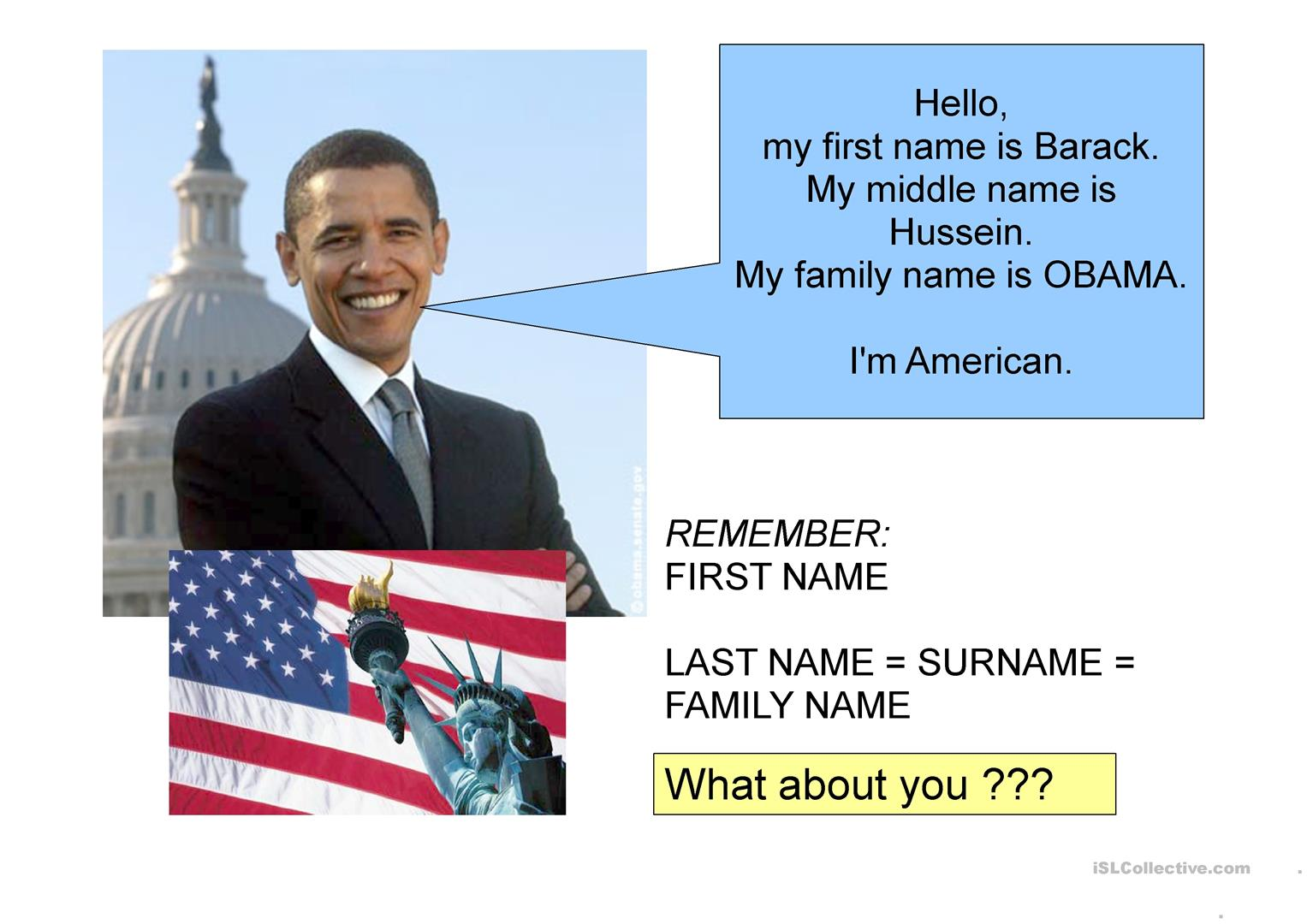 Obama S Personal Information