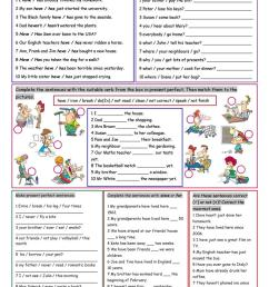 Present Perfect Tense - English ESL Worksheets for distance learning and  physical classrooms [ 1079 x 763 Pixel ]
