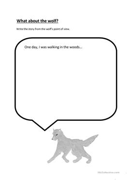 3 FREE ESL peter and the wolf worksheets