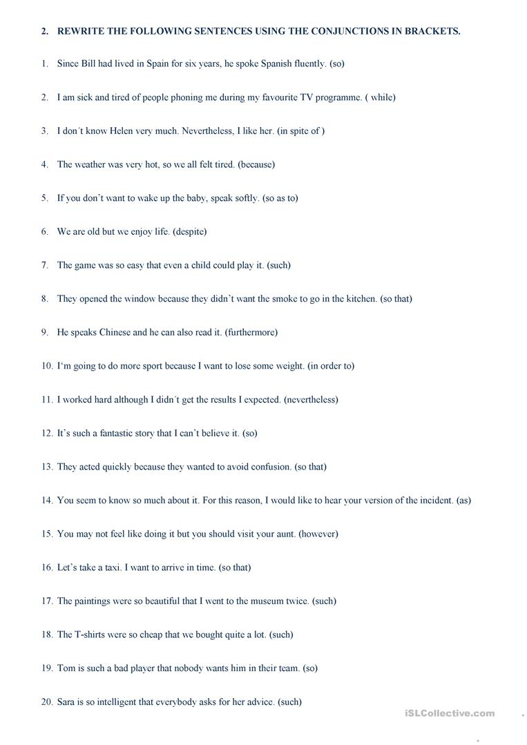 hight resolution of linkers and connectors - English ESL Worksheets for distance learning and  physical classrooms