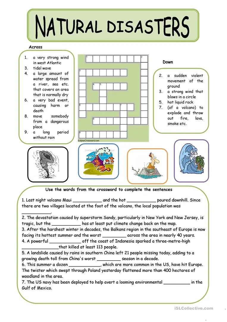 hight resolution of English ESL nature worksheets - Most downloaded (93 Results)