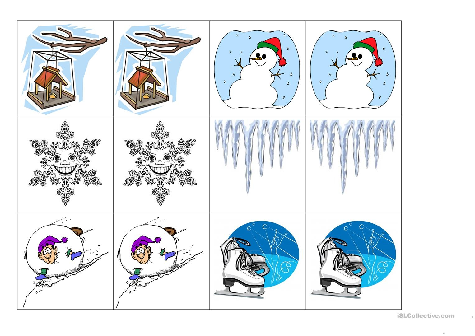 Winter Memo Worksheet