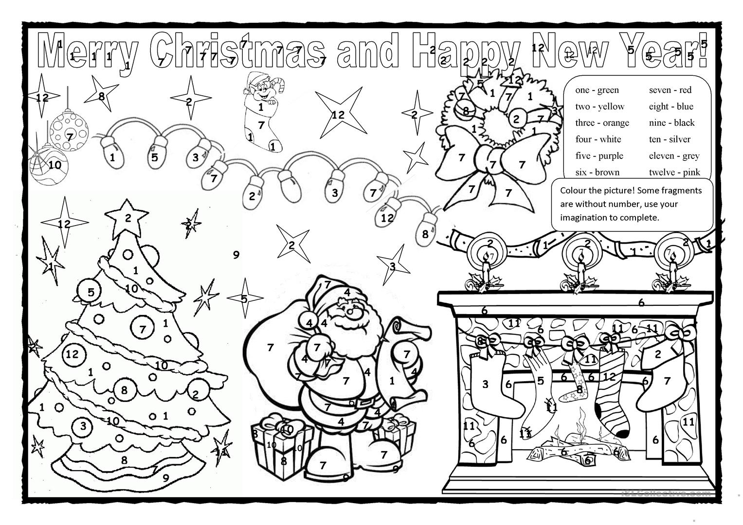 Christmas Colouring 2