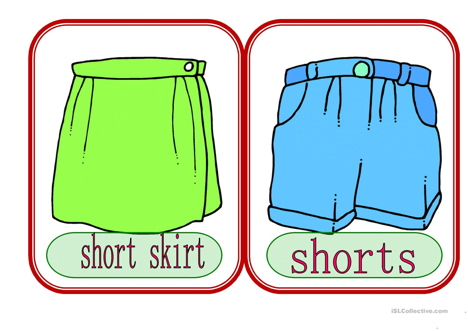 Clothes 5 Worksheet