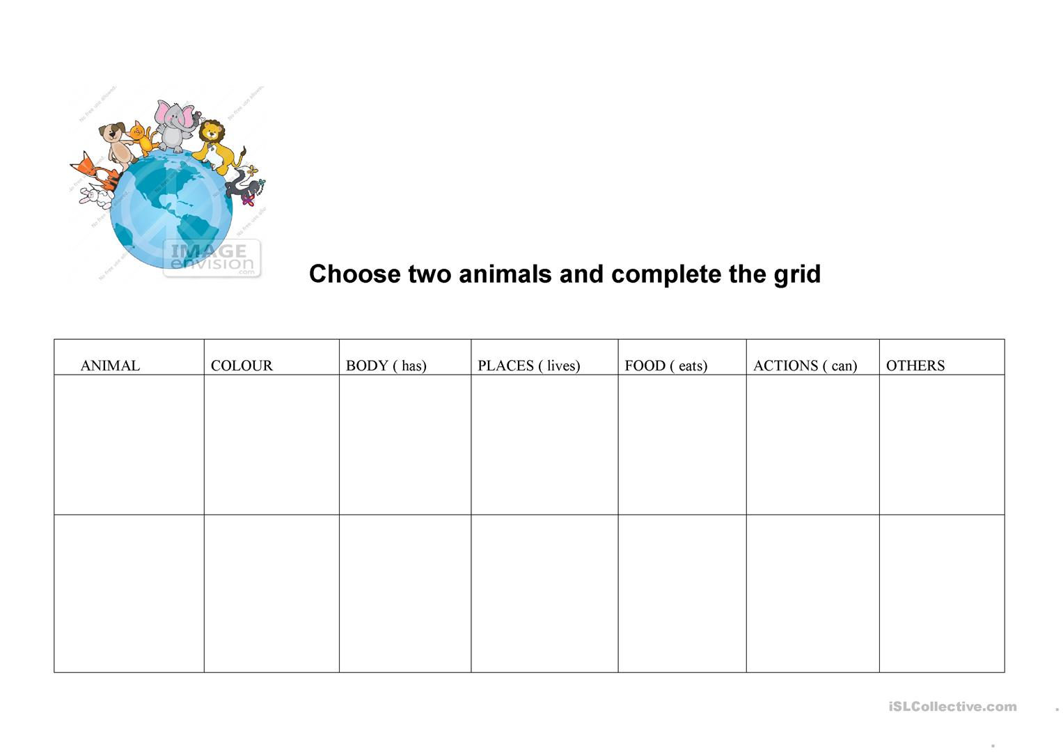 Animals Research Grid