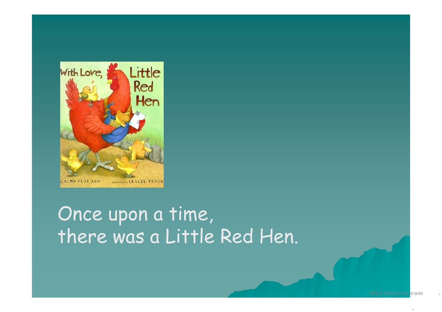 Little Red Hen Worksheet