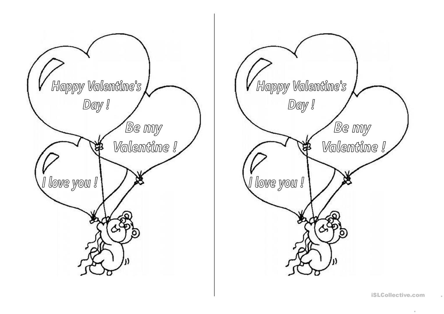 Valentine Printable Worksheets That Are Canny
