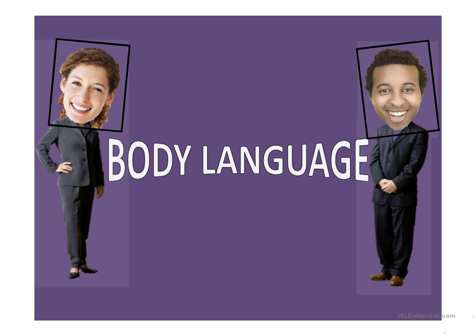 Body Language Worksheet