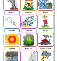 English ESL natural disasters worksheets - Most downloaded (52 Results) [ 1079 x 763 Pixel ]