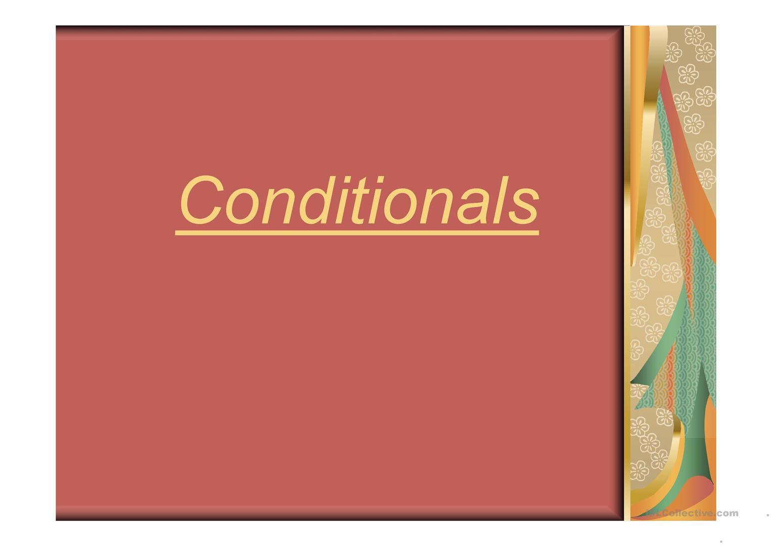 Ppt Zero And First Conditional