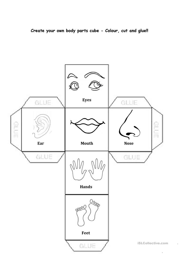 hight resolution of Body Parts - English ESL Worksheets for distance learning and physical  classrooms