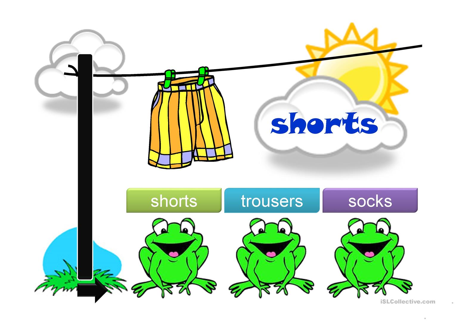 Clothes Ppt Worksheet