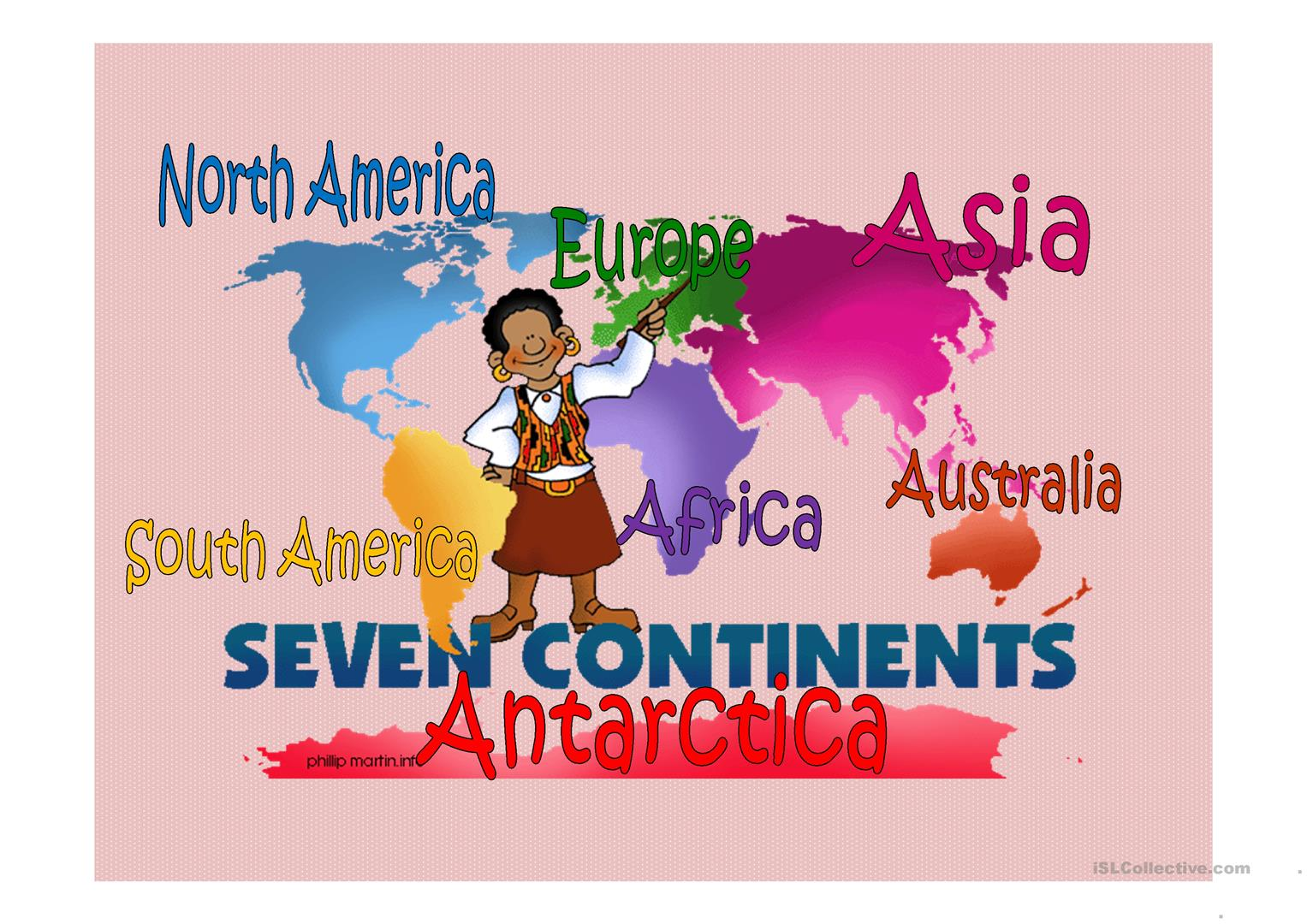 Continent Amp Countries Amp Nationalities Worksheet