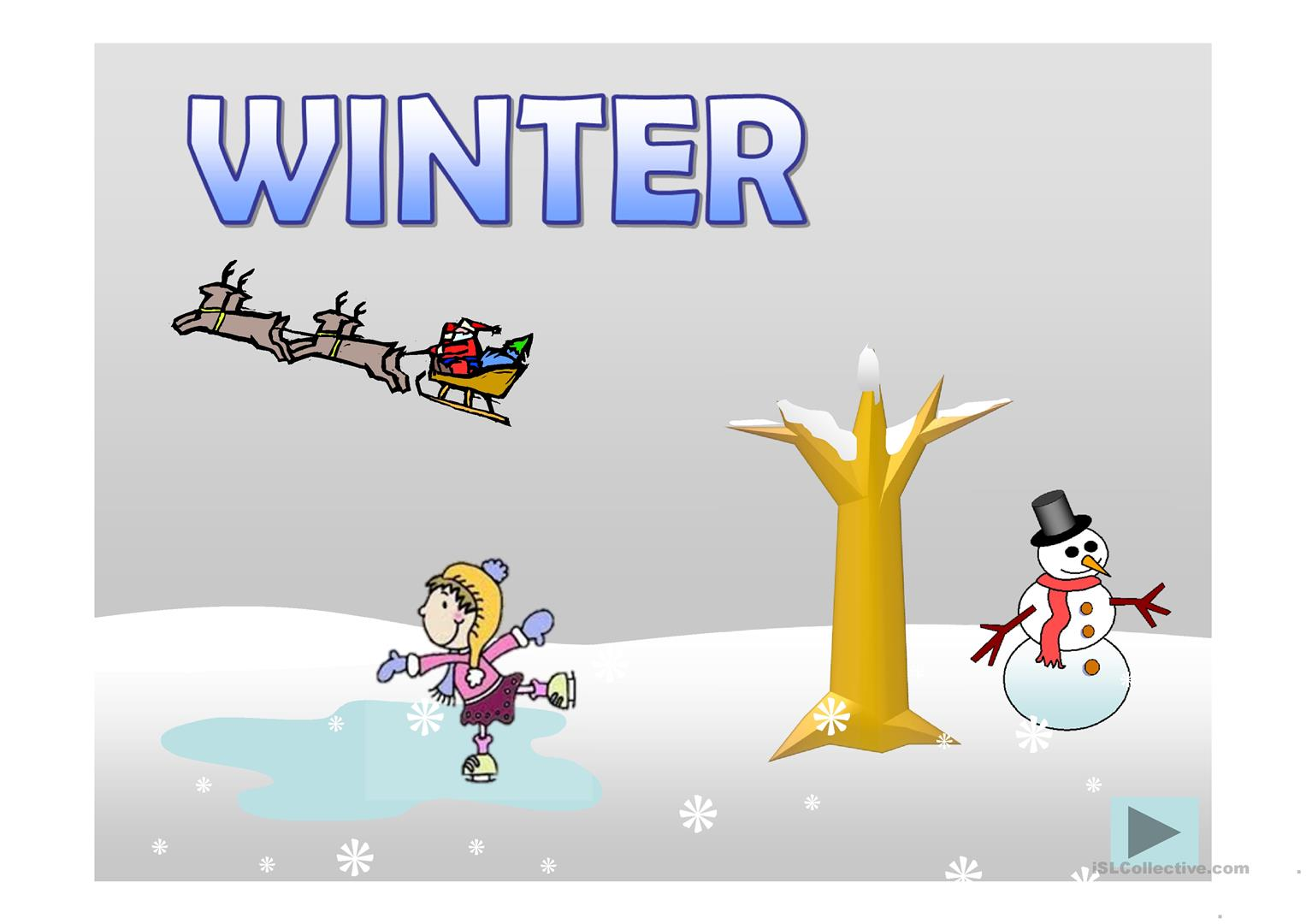 Seasons Ppt Worksheet