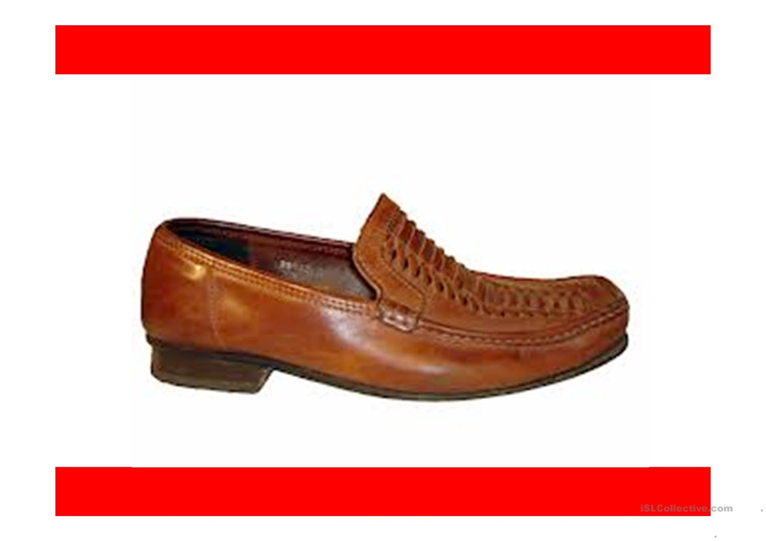 Shoes Shoes Everywhere Ppt Worksheet