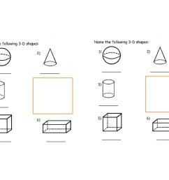 Identifying Solid Shapes Worksheet   Printable Worksheets and Activities  for Teachers [ 1080 x 1527 Pixel ]