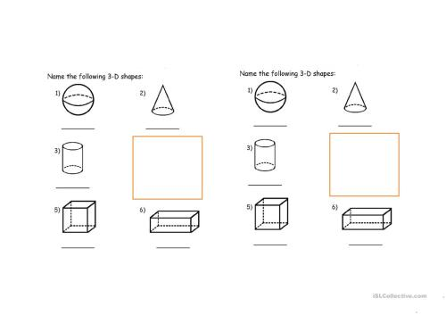 small resolution of Identifying Solid Shapes Worksheet   Printable Worksheets and Activities  for Teachers