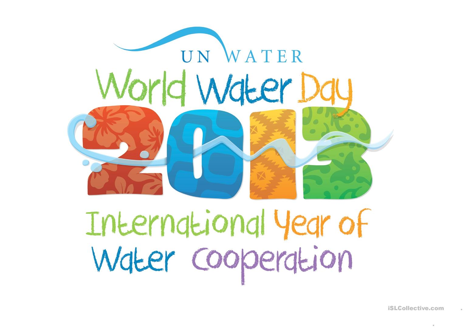 The World Water Day Worksheet