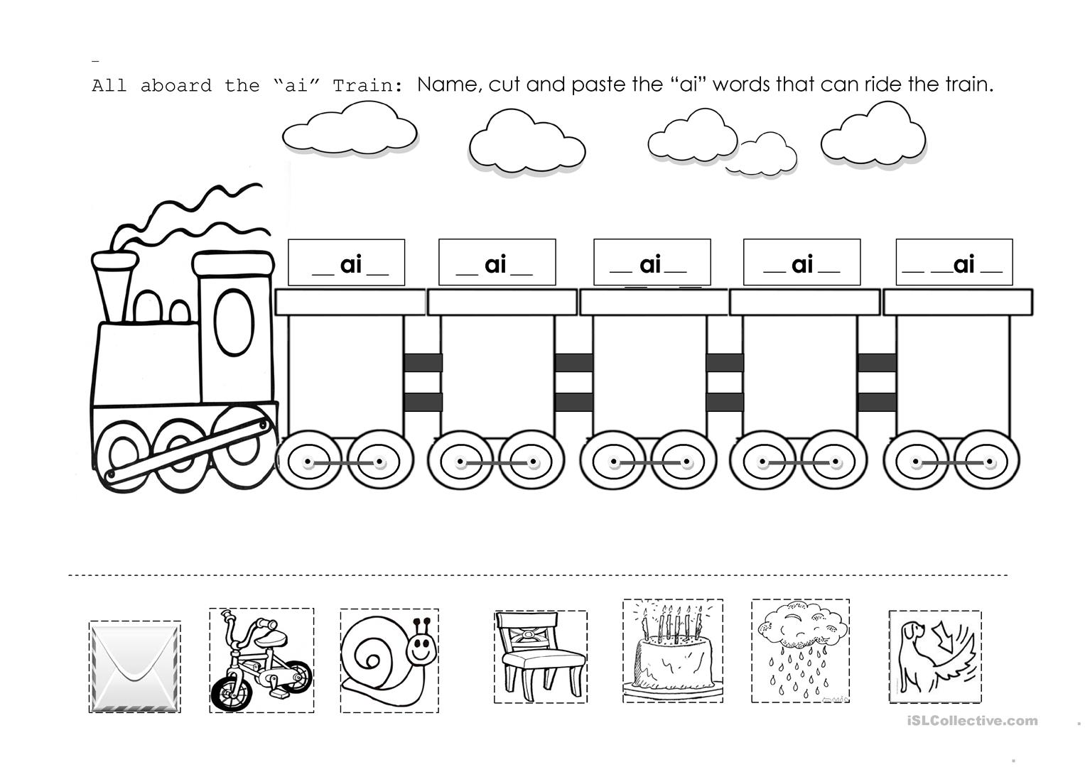 Thomas The Train Number Worksheet