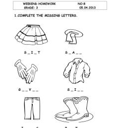 clothes - English ESL Worksheets for distance learning and physical  classrooms [ 1079 x 763 Pixel ]