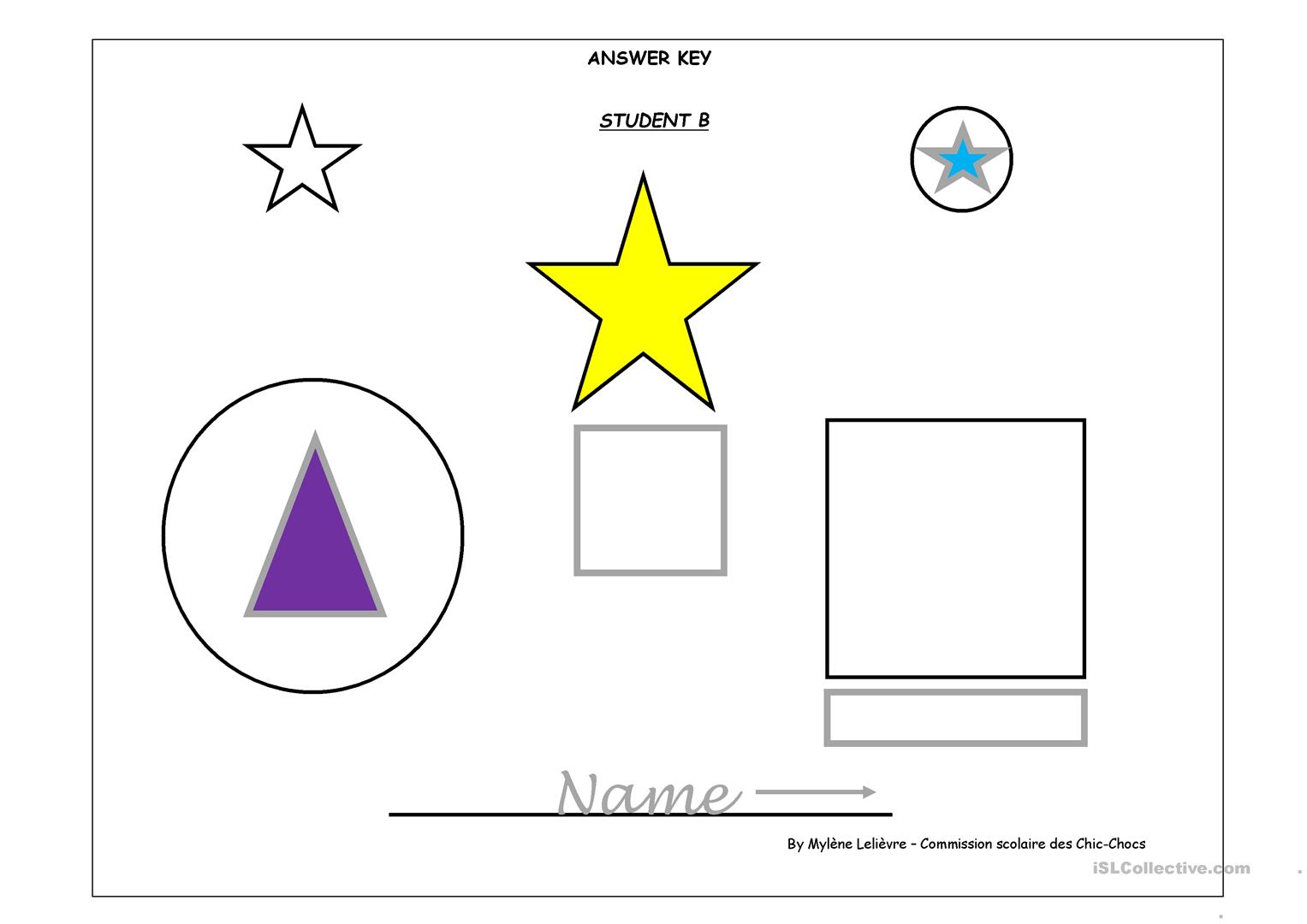 Draw Shapes Worksheet