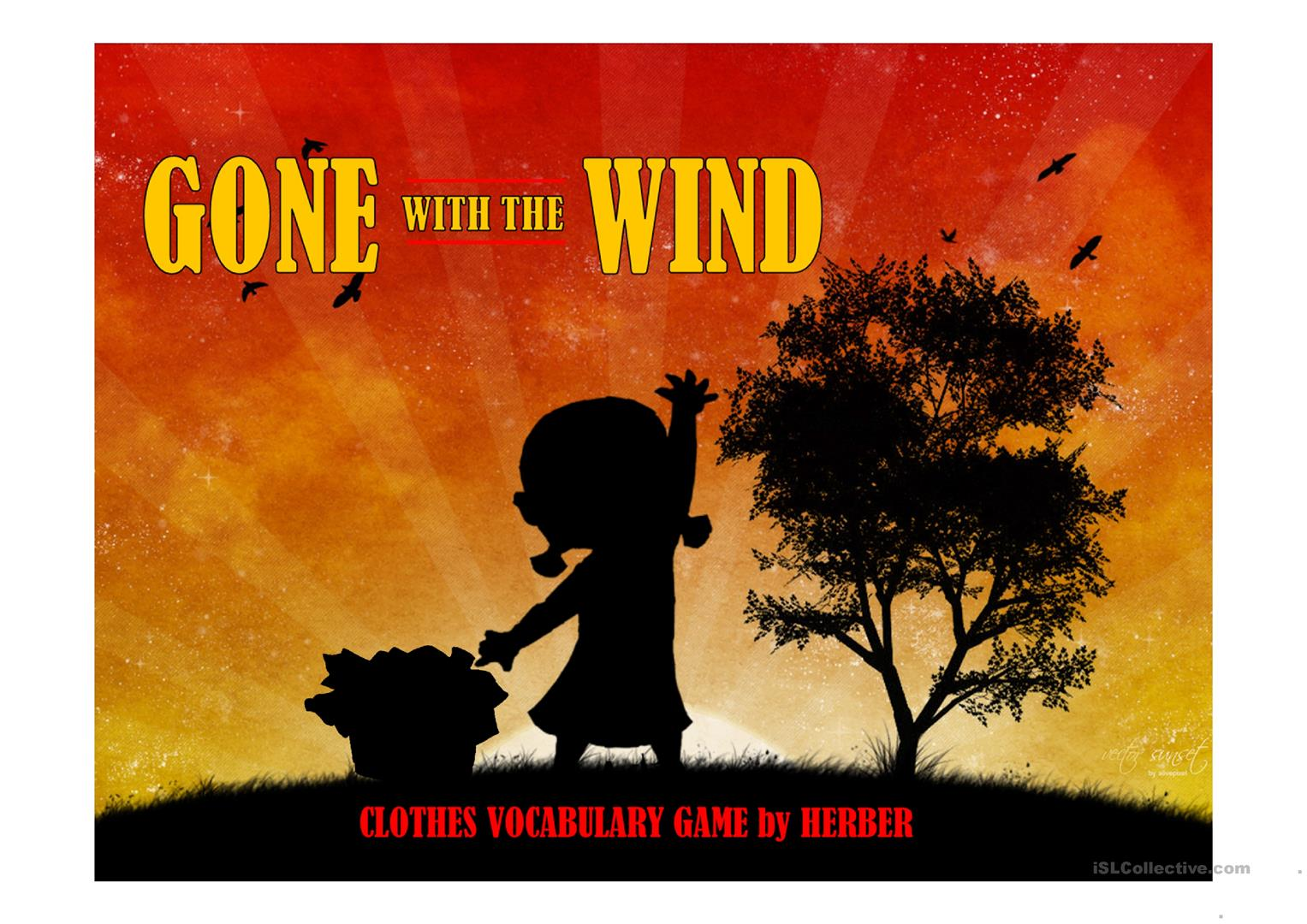 Gone With The Wind Ppt Worksheet