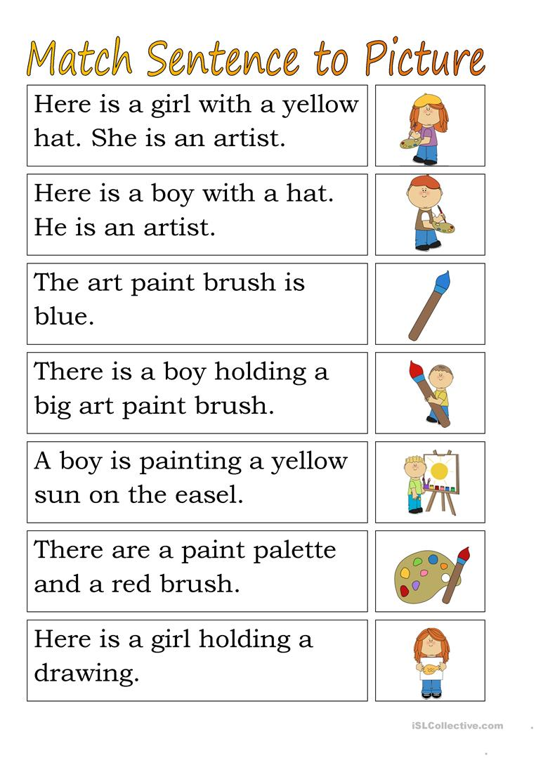 medium resolution of Describing Pictures using Sentences with Correct Actions Worksheet Turtle  Diary   Game Pictures