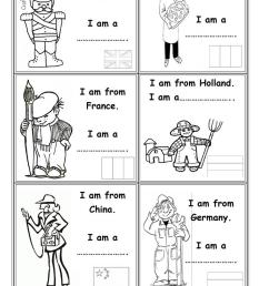 Occupations and countries - English ESL Worksheets for distance learning  and physical classrooms [ 1079 x 763 Pixel ]