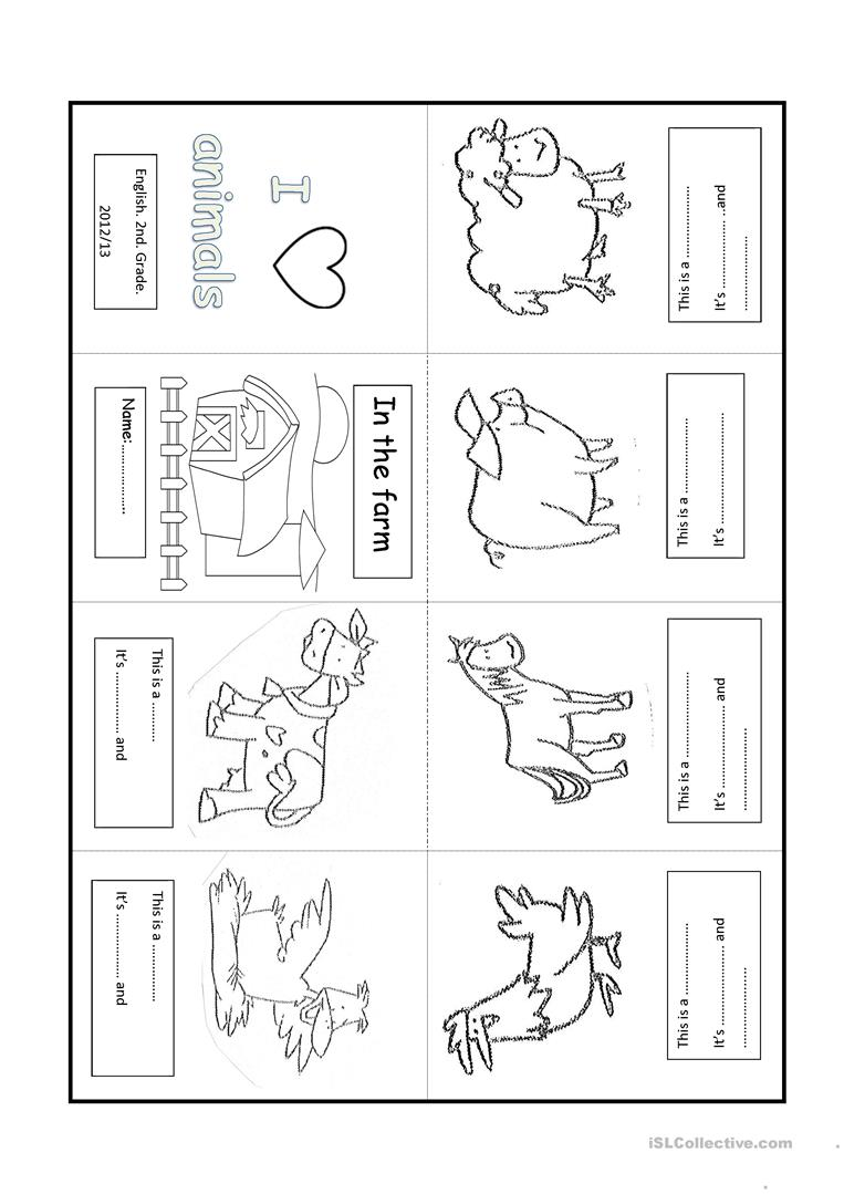 Farm Animal Lesson Plans Kindergarten