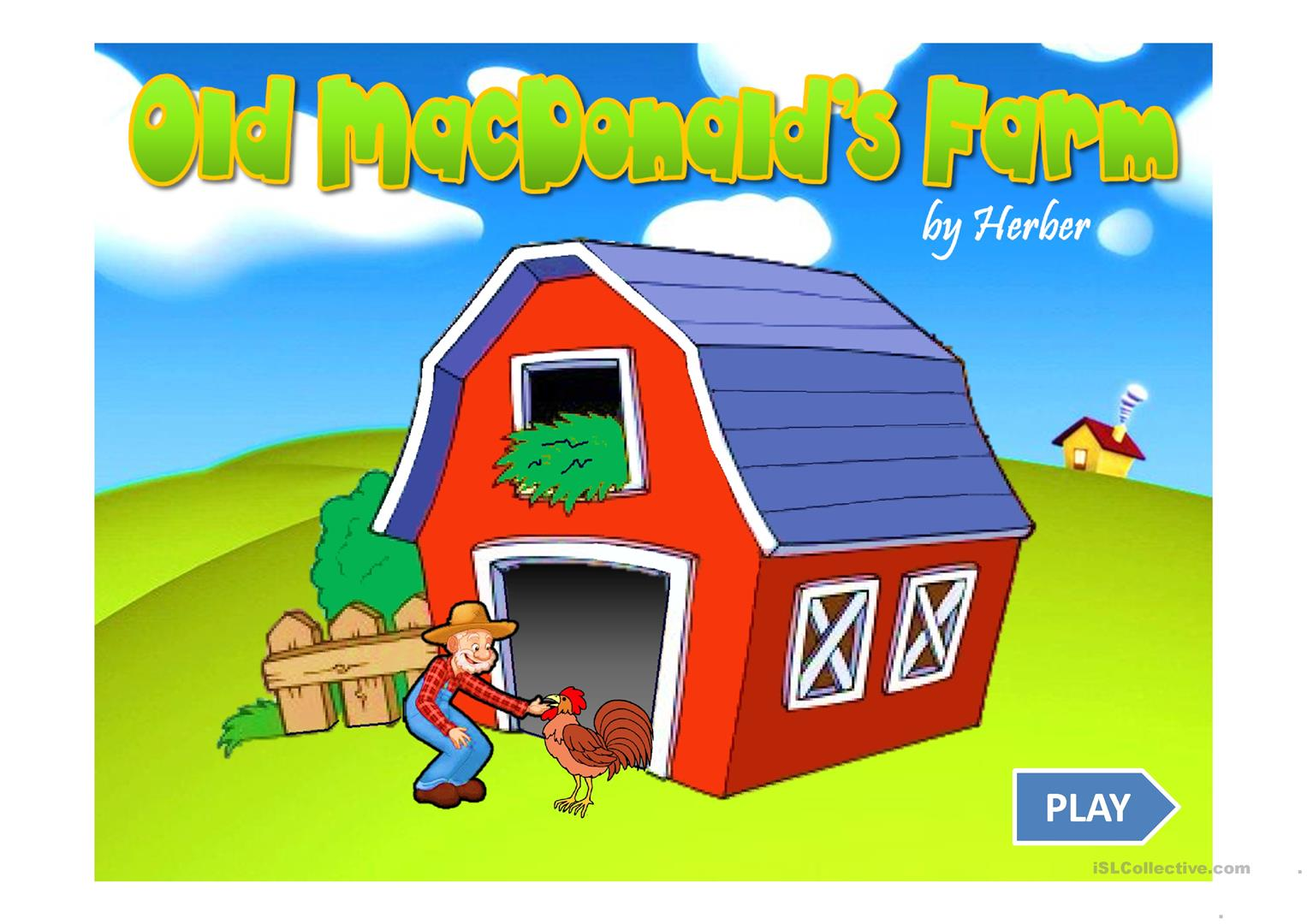 Farm Animals Game Ppt Worksheet