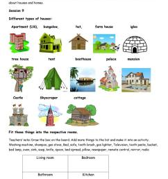 Houses and home - English ESL Worksheets for distance learning and physical  classrooms [ 1079 x 763 Pixel ]