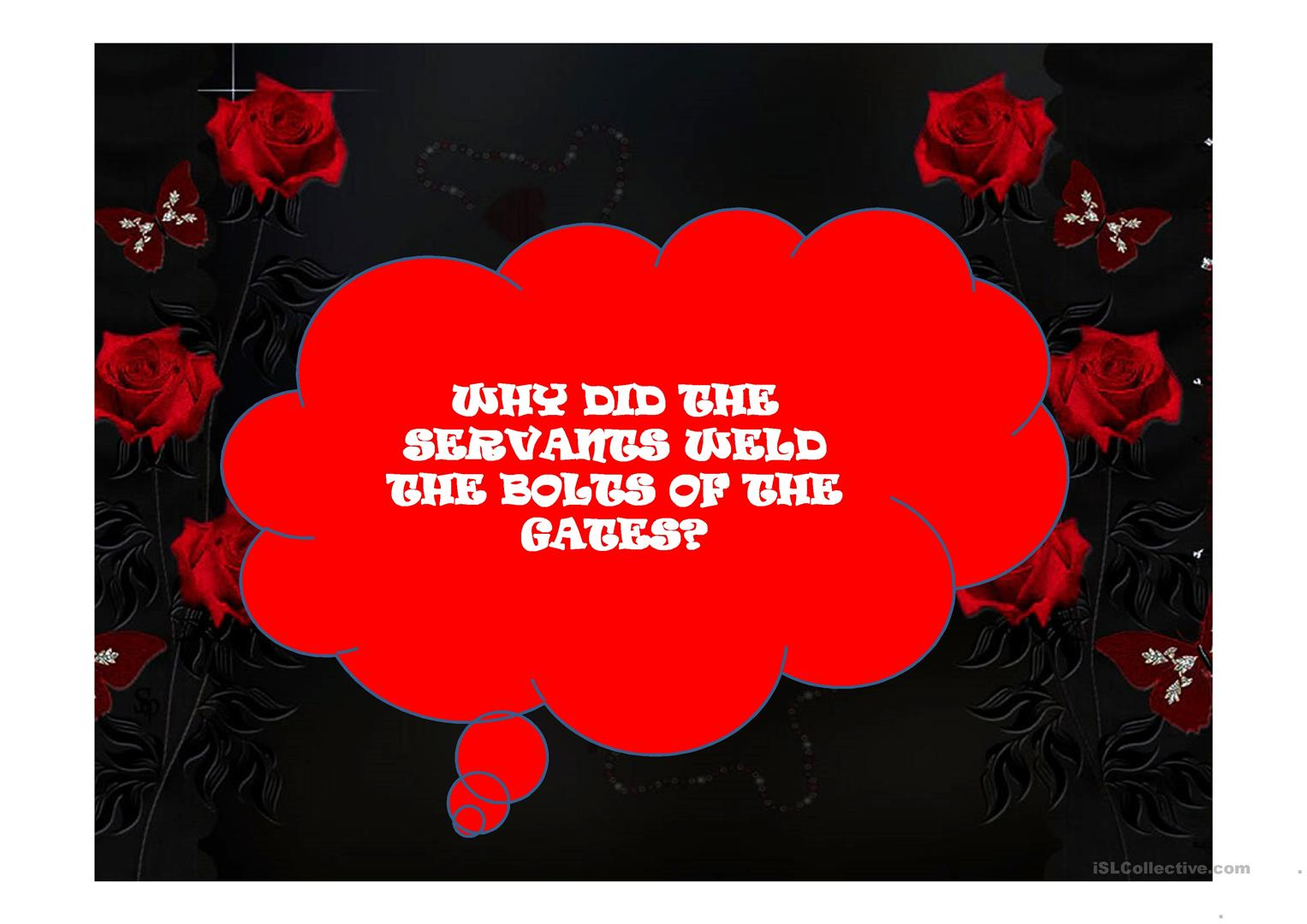 The Masque Of The Red Questions And Vocabulary