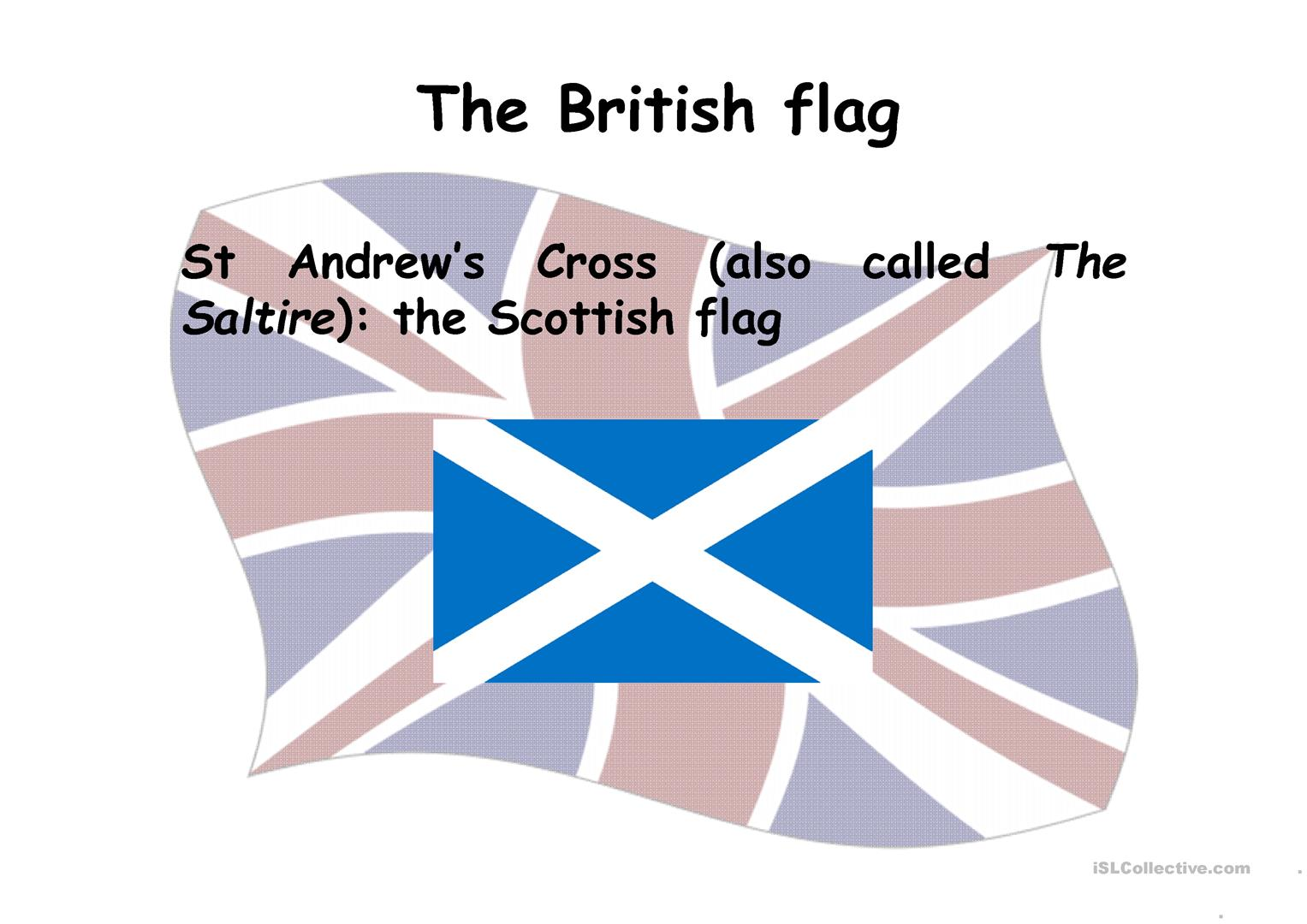 British Flag Composition Worksheet