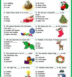 English ESL christmas vocabulary worksheets - Most downloaded (76 Results) [ 1079 x 763 Pixel ]