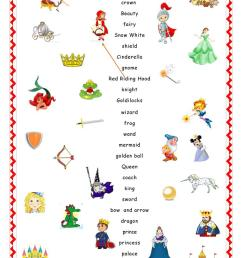 Fairy Tales.Matching. - English ESL Worksheets for distance learning and  physical classrooms [ 1079 x 763 Pixel ]