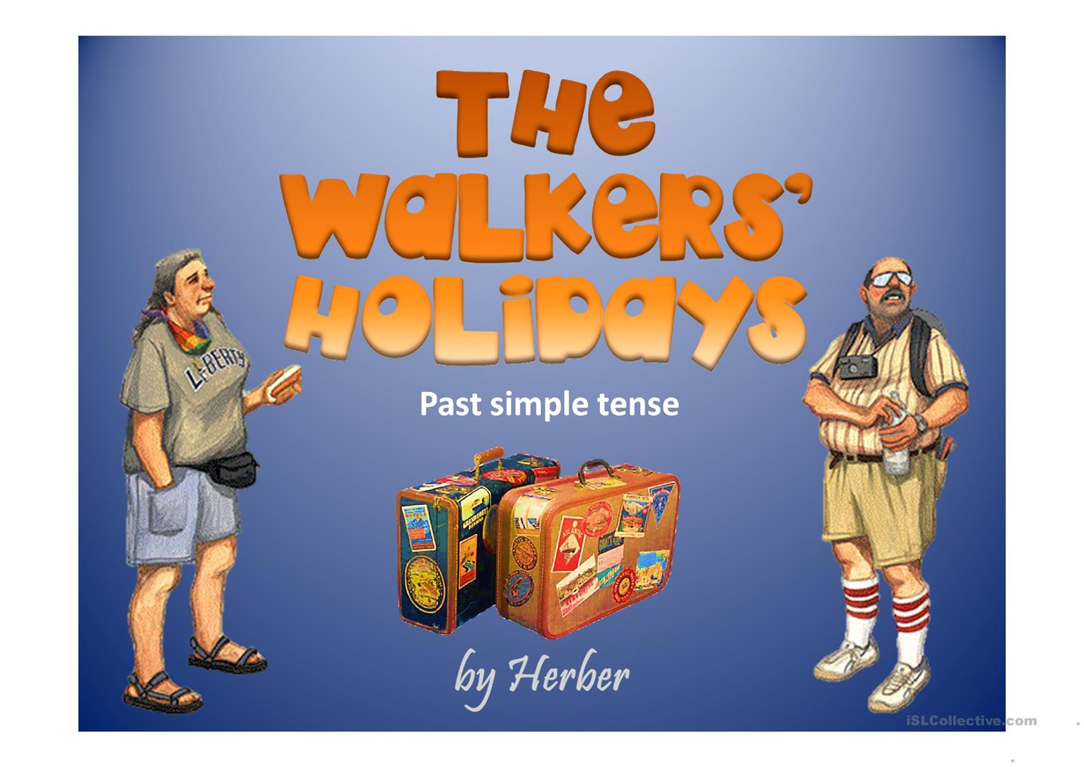 The Walker S Holidays Worksheet