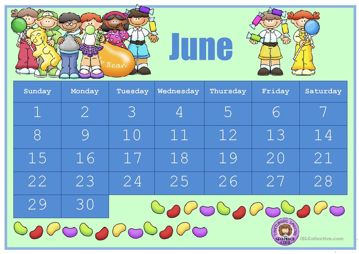 hight resolution of Esl Calendar Worksheets   Printable Worksheets and Activities for Teachers