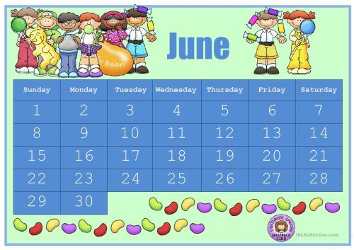 small resolution of Esl Calendar Worksheets   Printable Worksheets and Activities for Teachers