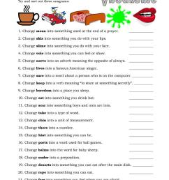 English ESL anagrams worksheets - Most downloaded (15 Results) [ 1079 x 763 Pixel ]