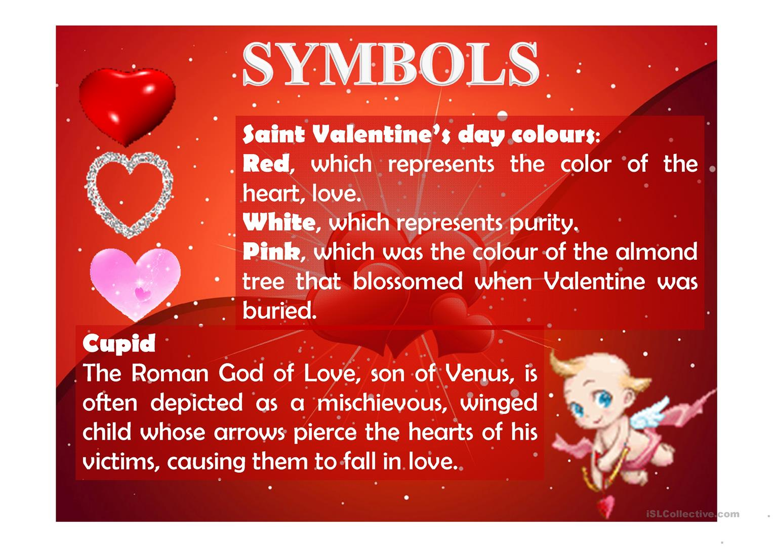 Saint Valentine S Day Worksheet
